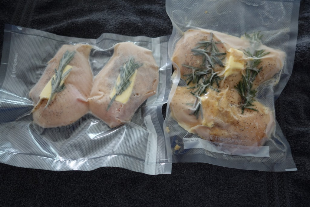 Vacuum Sealed Chicken, ready to be cooked